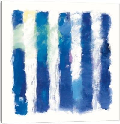 Rhythm And Hue On White Canvas Art Print