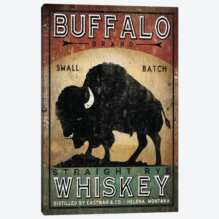 Buffalo Brand Small Batch Straight Rye Whiskey Canvas Print #WAC5216} by Ryan Fowler Canvas Art
