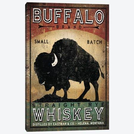 Buffalo Brand Small Batch Straight Rye Whiskey Canvas Print #WAC5216} by Ryan Fowler Canvas Art