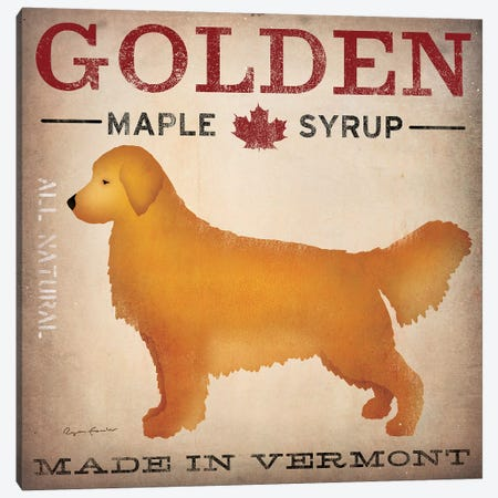 Golden Maple Syrup Canvas Print #WAC5221} by Ryan Fowler Canvas Artwork