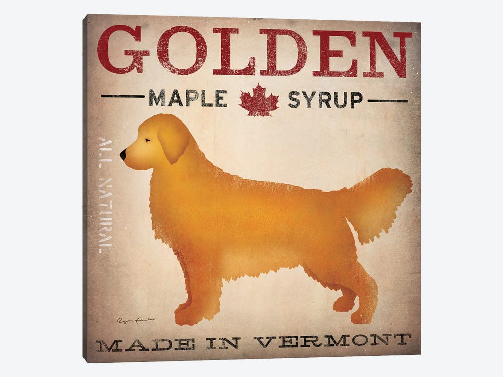 Golden Maple Syrup by Ryan Fowler 1-piece Canvas Wall Art