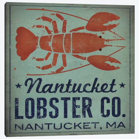 Nantucket Lobster Co. Canvas Print #WAC5222} by Ryan Fowler Canvas Artwork
