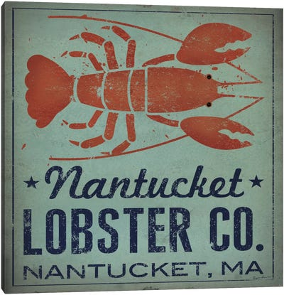 Nantucket Lobster Co. Canvas Print #WAC5222