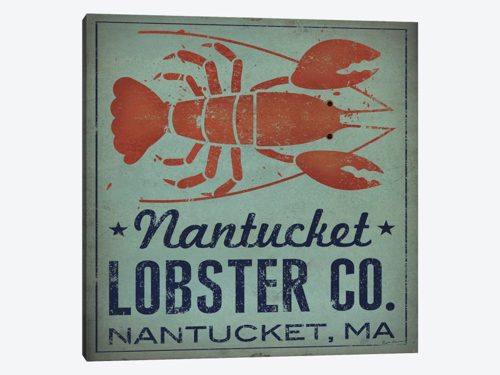 Nantucket Lobster Co. by Ryan Fowler 1-piece Art Print