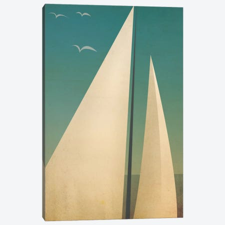 Sails I Canvas Print #WAC5224} by Ryan Fowler Canvas Art Print