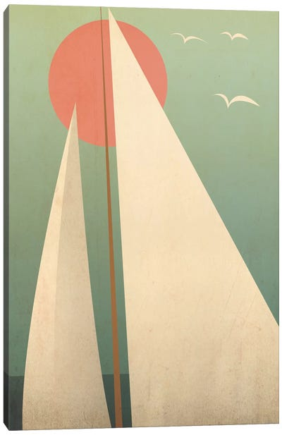 Sails III Canvas Art Print