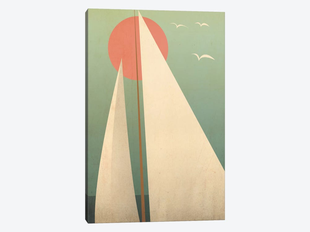 Sails III by Ryan Fowler 1-piece Canvas Art