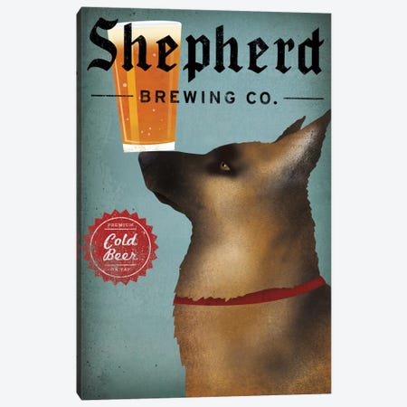 Shepherd Brewing Co. Canvas Print #WAC5226} by Ryan Fowler Canvas Print
