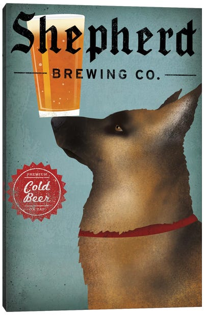 Shepherd Brewing Co. Canvas Art Print