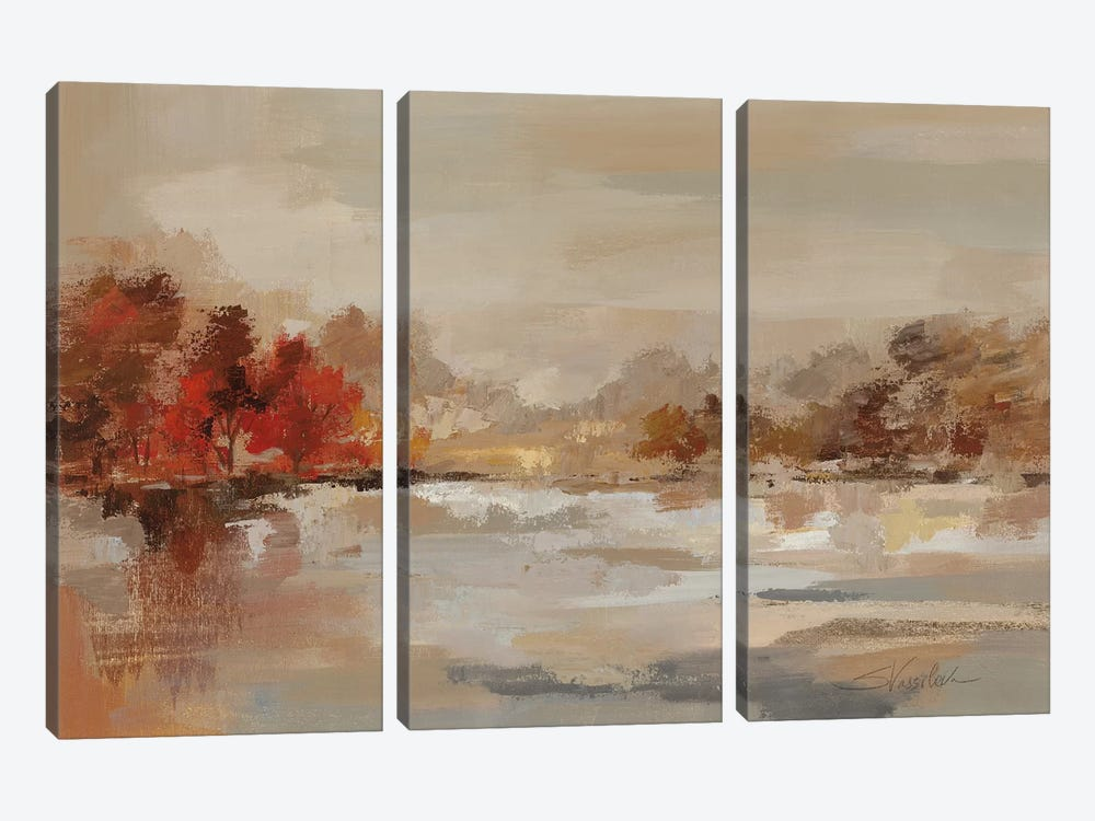 Late Fall Reminiscense by Silvia Vassileva 3-piece Art Print