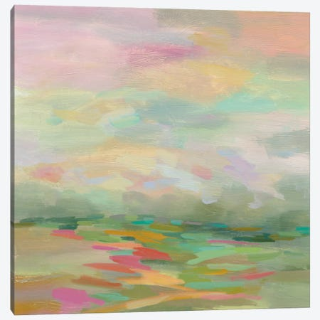 Pastel Fields Canvas Print #WAC5234} by Silvia Vassileva Canvas Art
