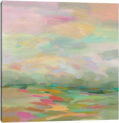 Pastel Fields Canvas Art Print