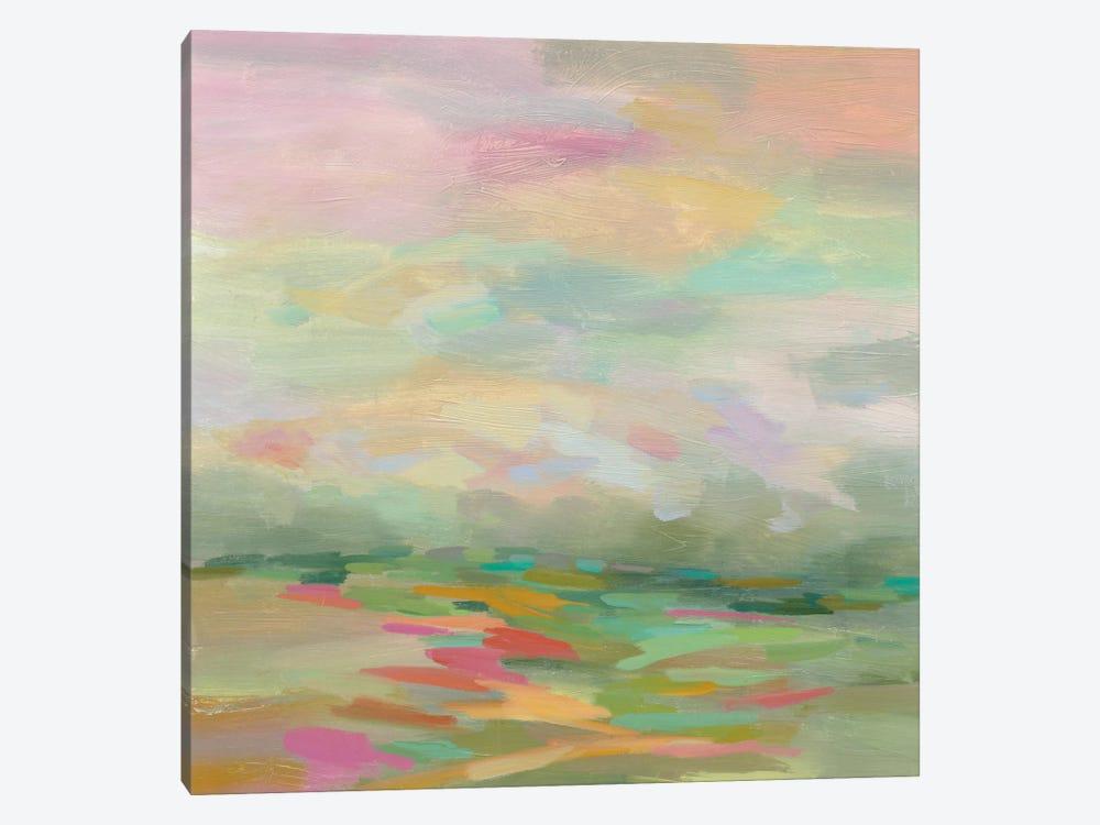 Pastel Fields by Silvia Vassileva 1-piece Canvas Wall Art