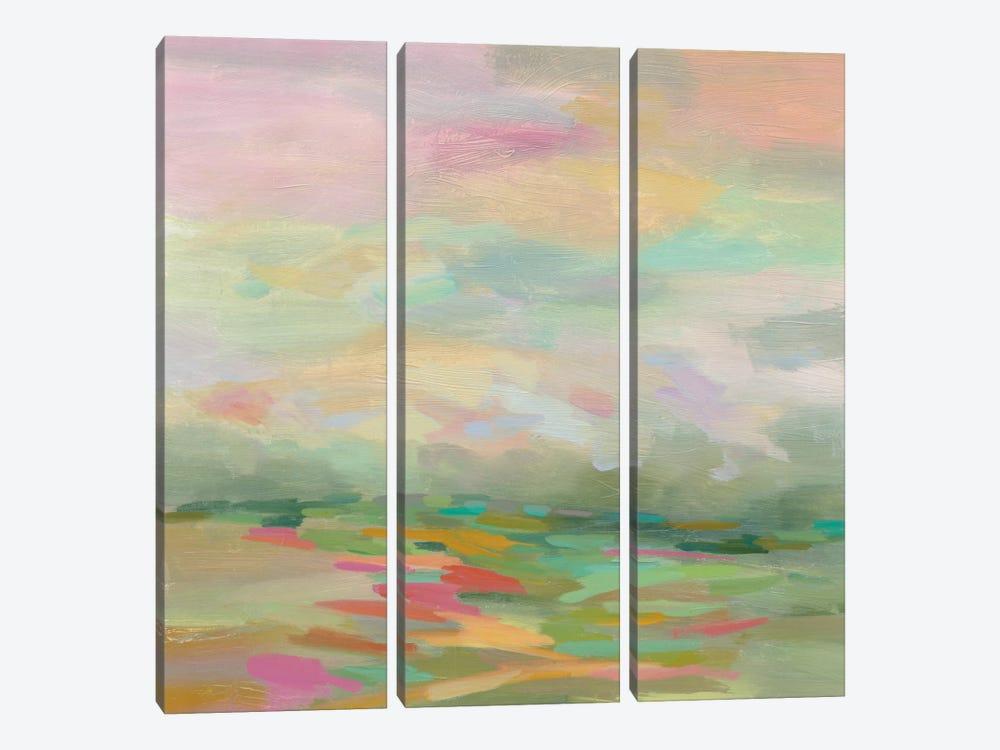 Pastel Fields by Silvia Vassileva 3-piece Canvas Wall Art