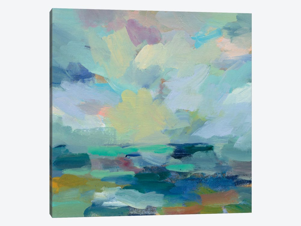 Storm II by Silvia Vassileva 1-piece Canvas Art