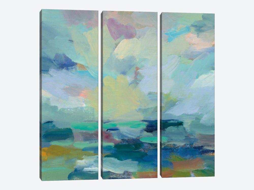 Storm II by Silvia Vassileva 3-piece Canvas Wall Art