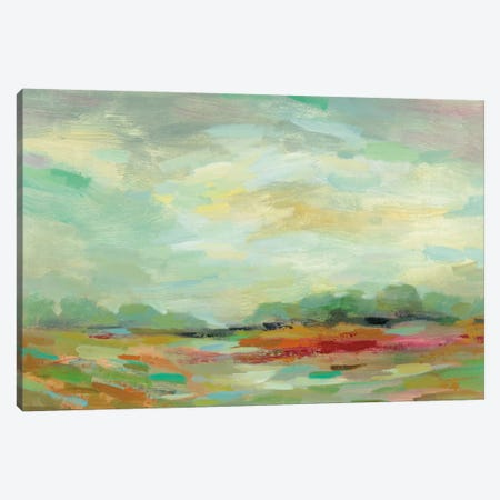 Sunrise Field Canvas Print #WAC5237} by Silvia Vassileva Canvas Art