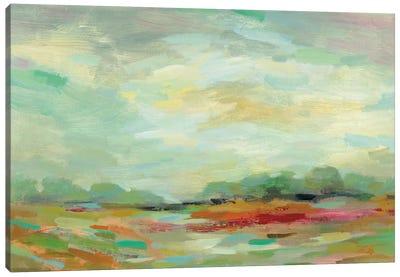 Sunrise Field Canvas Art Print