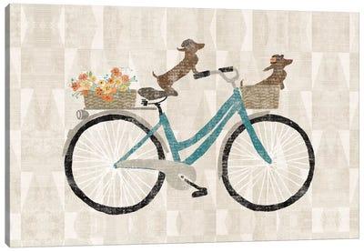 Doxie Ride I Canvas Art Print