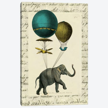 Elephant Ride I Canvas Print #WAC5242} by Sue Schlabach Canvas Wall Art