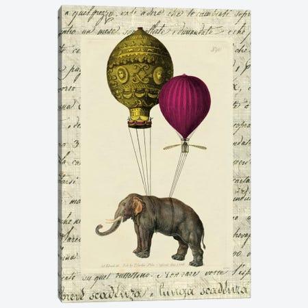 Elephant Ride II Canvas Print #WAC5243} by Sue Schlabach Canvas Wall Art