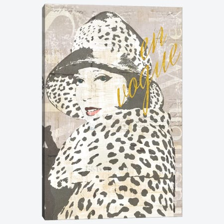 Fashion Week Paris Halftone II (en vogue) Canvas Print #WAC5247} by Sue Schlabach Canvas Print