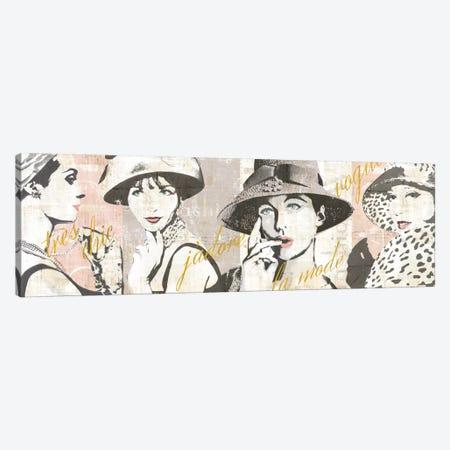 Fashion Week Paris Halftone V Canvas Print #WAC5250} by Sue Schlabach Art Print