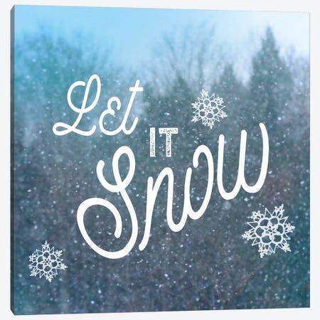 Let It Snow I Canvas Print #WAC5256} by Sue Schlabach Canvas Art