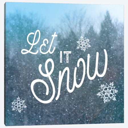 Let It Snow I 3-Piece Canvas #WAC5256} by Sue Schlabach Canvas Art