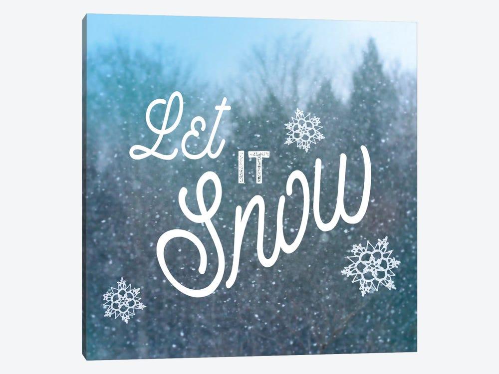 Let It Snow I by Sue Schlabach 1-piece Canvas Artwork