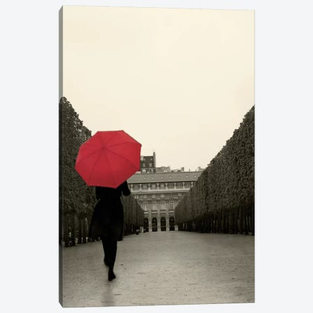 Paris Stroll II Canvas Print #WAC5265} by Sue Schlabach Canvas Art Print