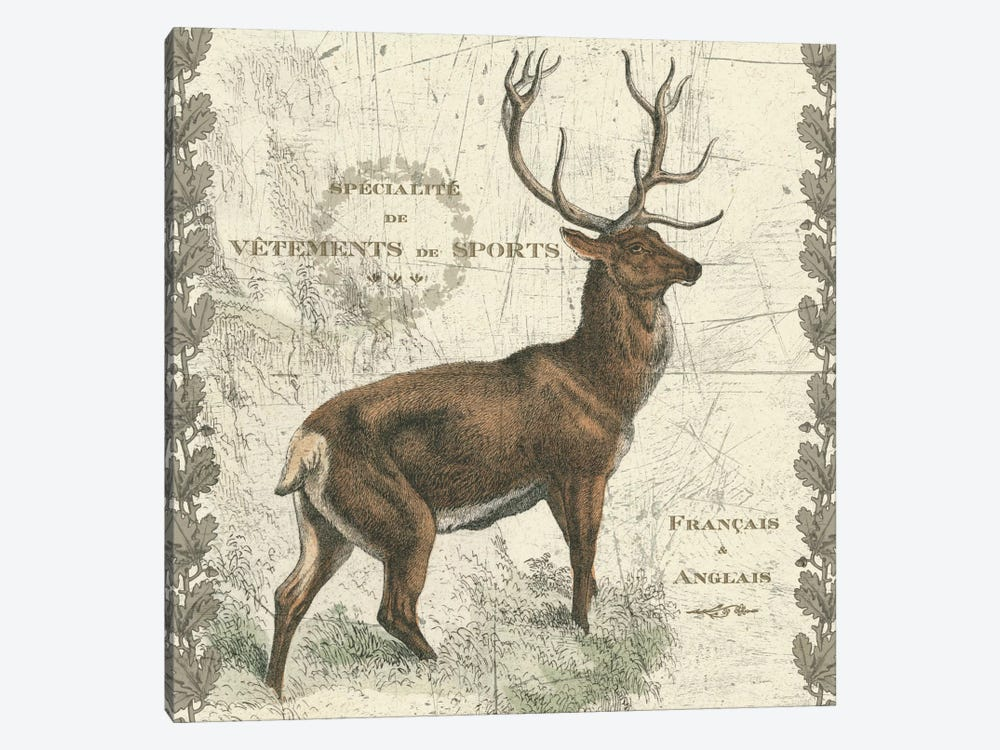 Regal Elk by Sue Schlabach 1-piece Canvas Artwork