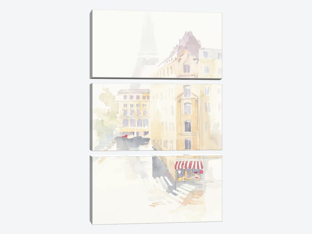 Paris Crosswalk by Avery Tillmon 3-piece Canvas Print