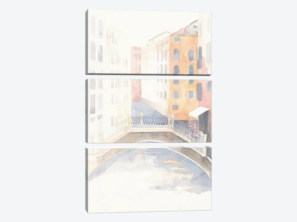 Venice Crosswalk by Avery Tillmon 3-piece Canvas Art