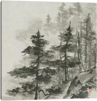 Sumi Treetops Canvas Art Print
