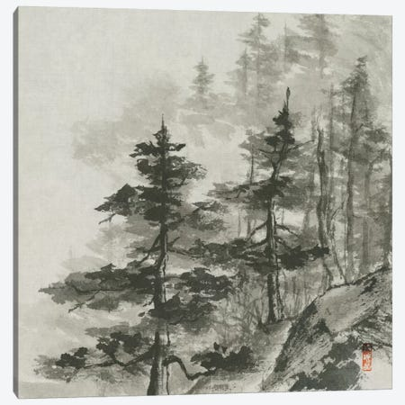 Sumi Treetops Canvas Print #WAC5293} by Chris Paschke Canvas Art Print