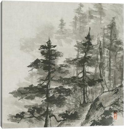 Sumi Treetops Canvas Art Print