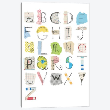 Alphabet I Canvas Print #WAC5294} by Courtney Prahl Canvas Art