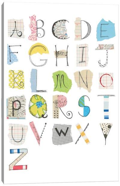 Alphabet I Canvas Print #WAC5294
