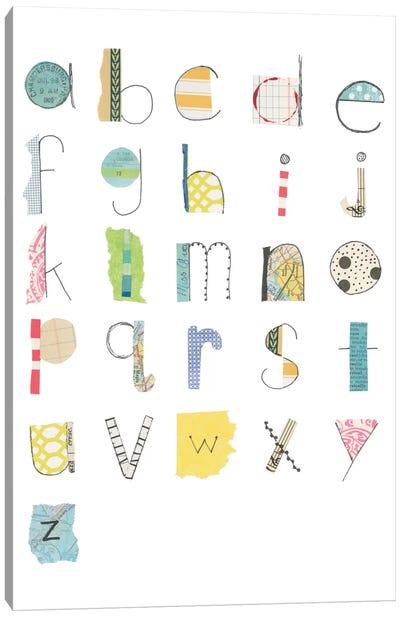 Alphabet II Canvas Print #WAC5295