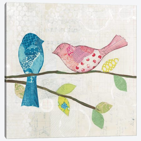 Catching Up V Canvas Print #WAC5300} by Courtney Prahl Art Print