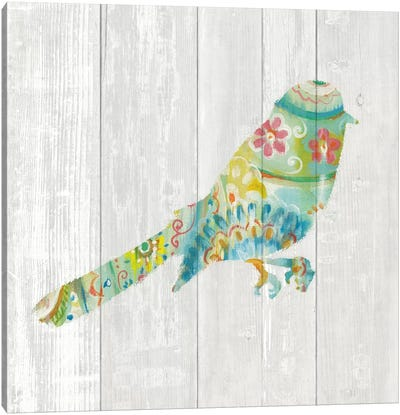 Spring Dream Paisley X Canvas Art Print
