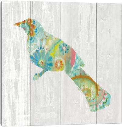 Spring Dream Paisley XI Canvas Art Print