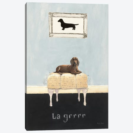La Grrr Canvas Print #WAC530} by Emily Adams Canvas Wall Art
