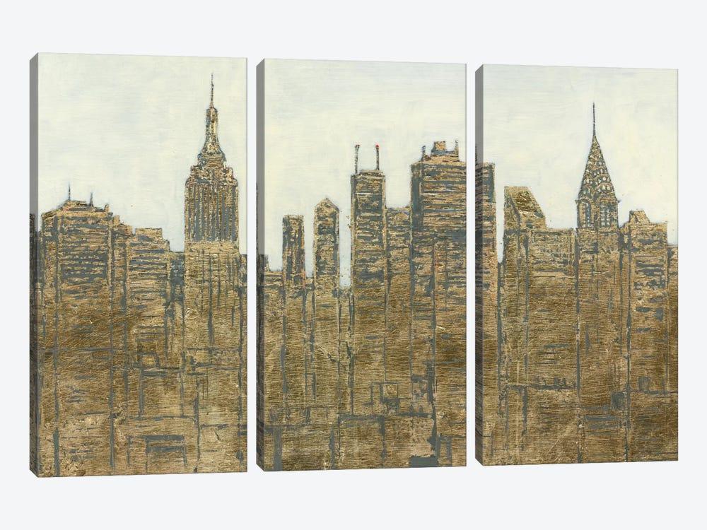 Lavish Skyline by James Wiens 3-piece Canvas Art