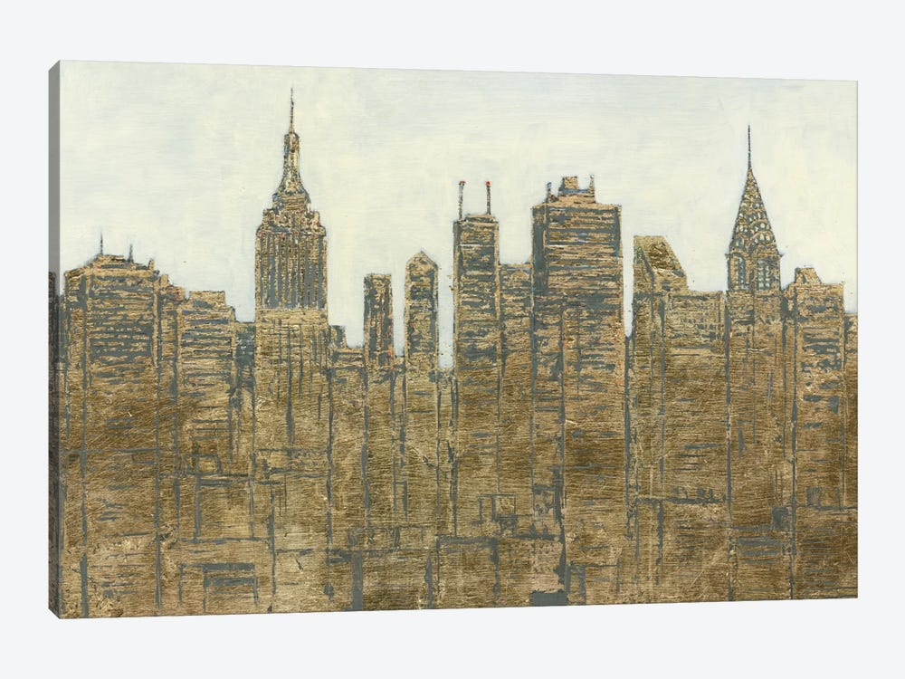 Lavish Skyline by James Wiens 1-piece Canvas Artwork