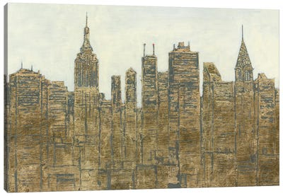 Lavish Skyline Canvas Art Print