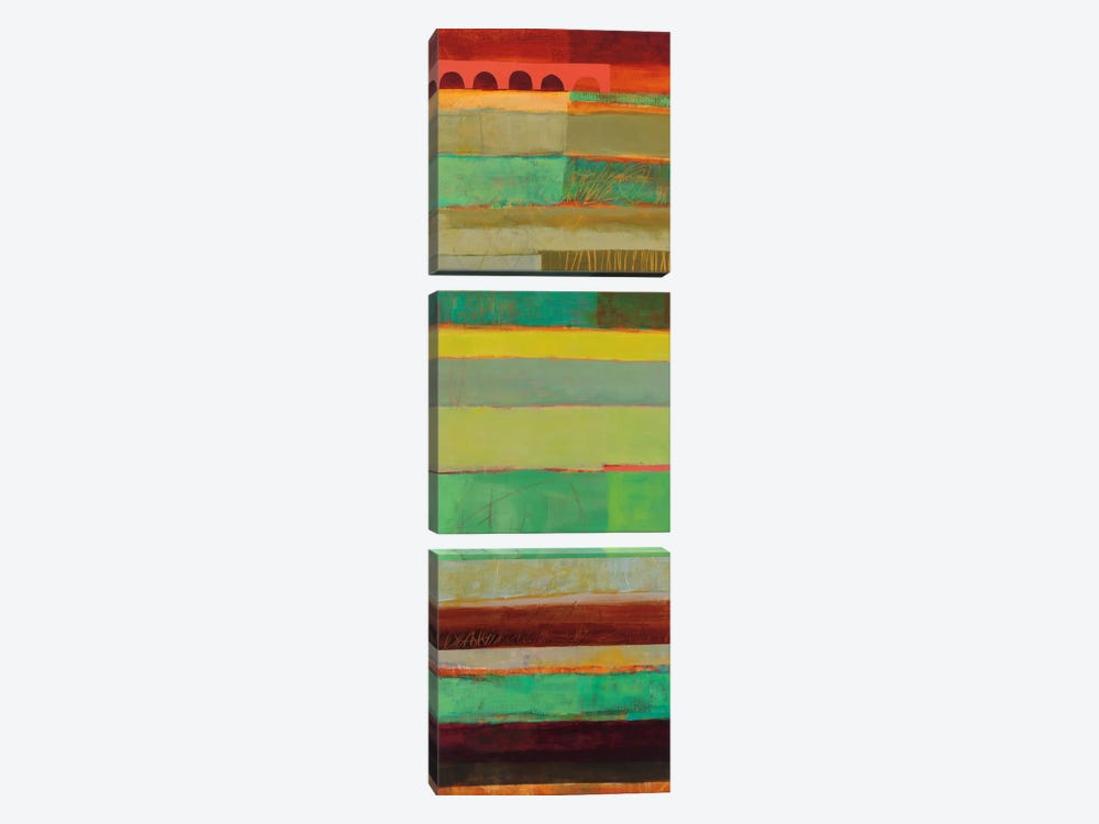 Fields Of Color IV by Jane Davies 3-piece Art Print