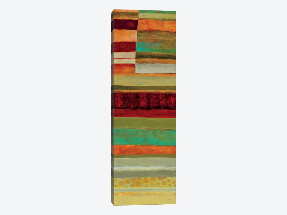 Fields Of Color V by Jane Davies 1-piece Canvas Artwork