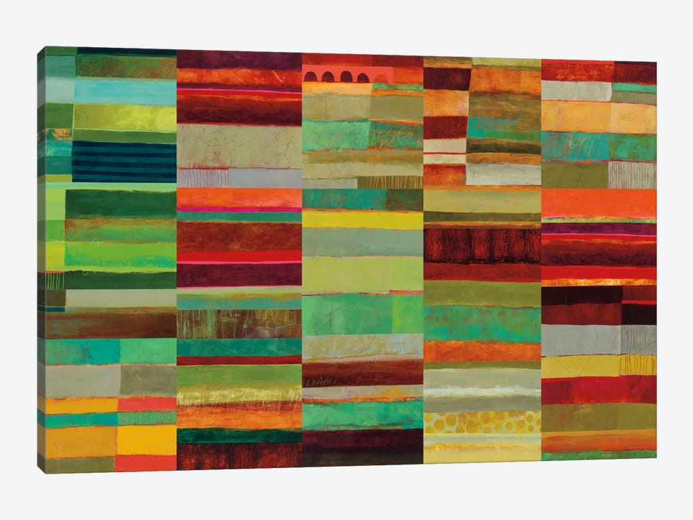 Fields Of Color VIII by Jane Davies 1-piece Canvas Art